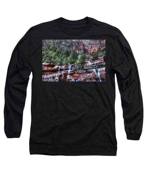 Red Falls Long Sleeve T-Shirt