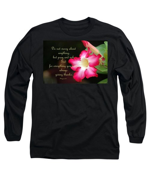 Long Sleeve T-Shirt featuring the photograph Red Hibiscus by Cynthia Amaral