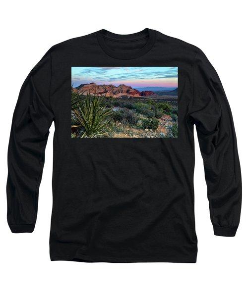 Red Rock Sunset II Long Sleeve T-Shirt