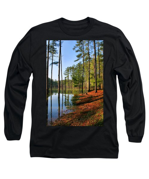Red Top Mountain Long Sleeve T-Shirt