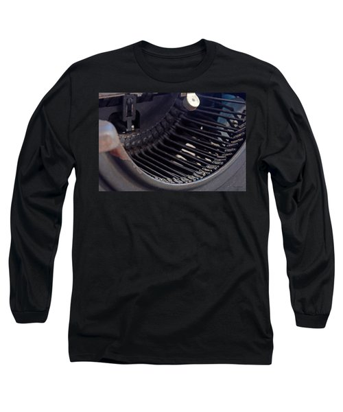 Long Sleeve T-Shirt featuring the photograph Remington 11 Detail by Kay Lovingood