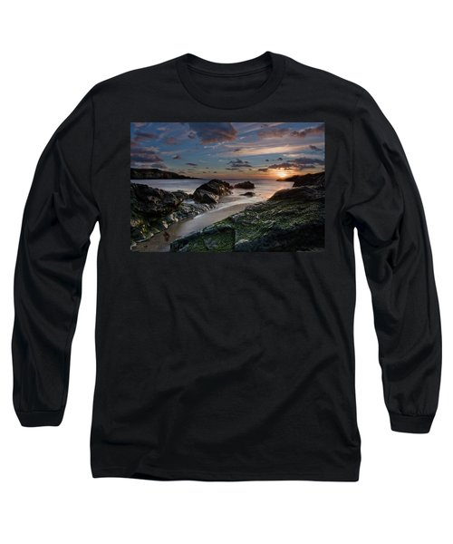 Rhosneigr Sunset  Long Sleeve T-Shirt