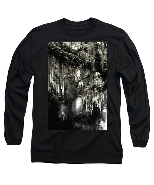 Long Sleeve T-Shirt featuring the photograph River Branch by Steven Sparks