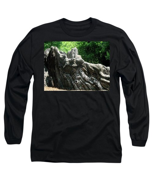 Rock Formation 2 Long Sleeve T-Shirt by Maria Urso