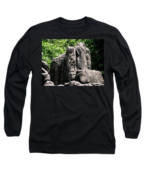 Rock Formation Long Sleeve T-Shirt by Maria Urso