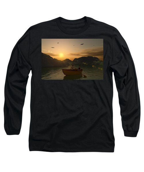 Romance On The Lake Long Sleeve T-Shirt