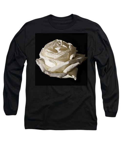 Long Sleeve T-Shirt featuring the photograph Rose Silver Anniversary by Steve Purnell