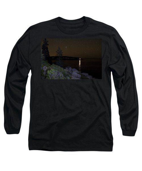 Rounding Otter Point Long Sleeve T-Shirt by Brent L Ander