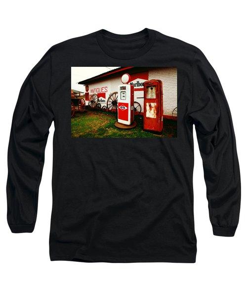 Rural Roadside Antiques Long Sleeve T-Shirt