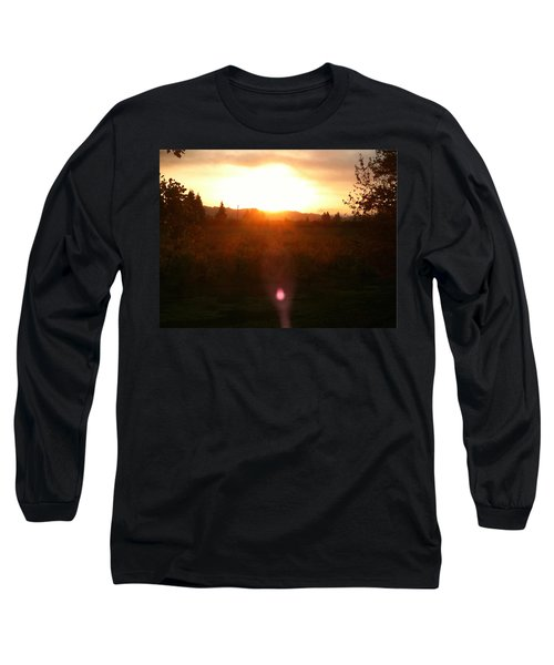 Russian River Sunrise Long Sleeve T-Shirt