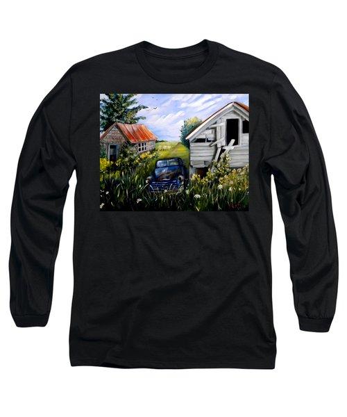 Rustic Partners Long Sleeve T-Shirt by Renate Nadi Wesley