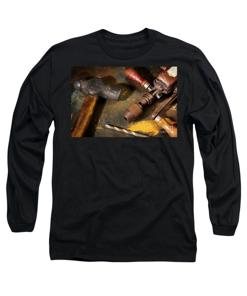 Rusty Tools Long Sleeve T-Shirt