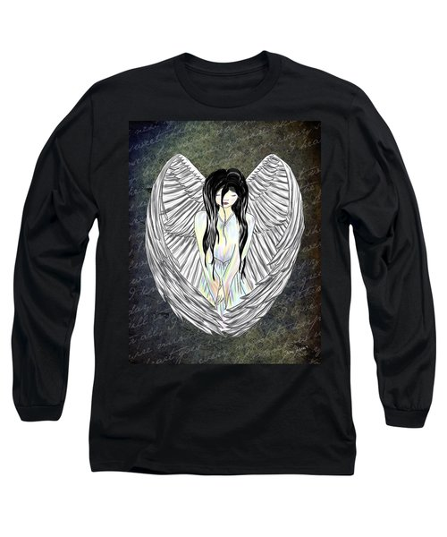 Sad Angel Long Sleeve T-Shirt