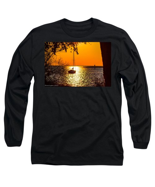 Long Sleeve T-Shirt featuring the photograph Sail Away by Shannon Harrington