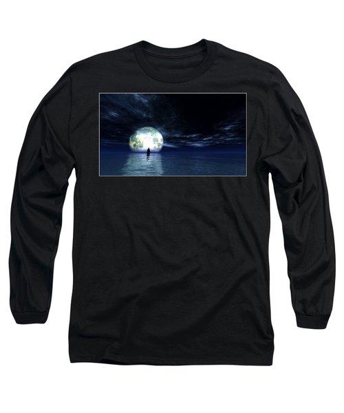 Sailing At Night... Long Sleeve T-Shirt