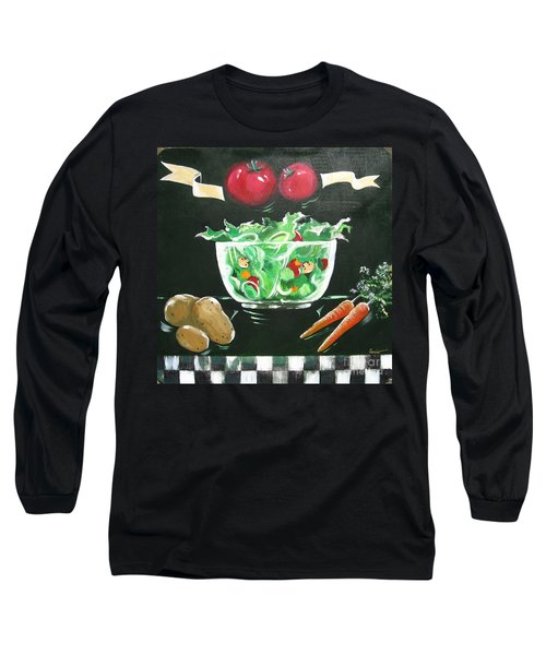 Salad Bowl Long Sleeve T-Shirt