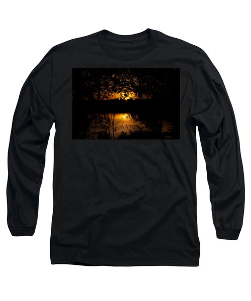 Scary Sunset Long Sleeve T-Shirt