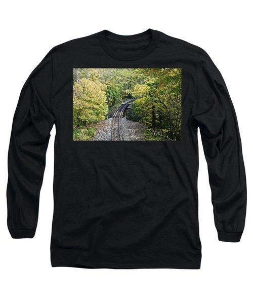Scenic Railway Tracks Long Sleeve T-Shirt