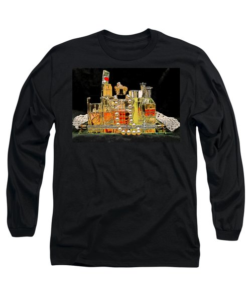 Long Sleeve T-Shirt featuring the photograph Scents Of A Woman by DigiArt Diaries by Vicky B Fuller