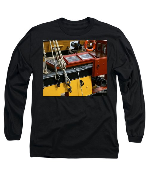 Long Sleeve T-Shirt featuring the photograph Sea Worthy by Elf Evans