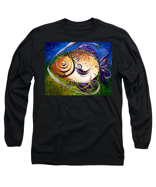 Seagrass And Sultry Non-subtlety Long Sleeve T-Shirt