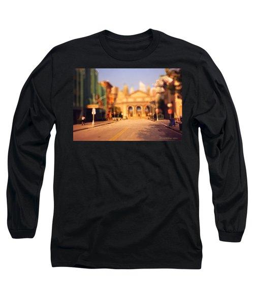 Seaport Tiltshift Long Sleeve T-Shirt by EricaMaxine  Price