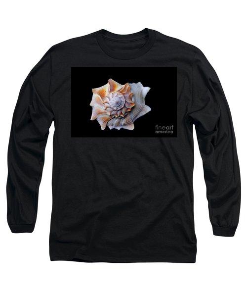 Long Sleeve T-Shirt featuring the photograph Seashell 1 by Deniece Platt