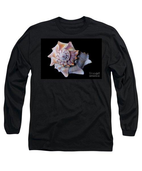 Long Sleeve T-Shirt featuring the photograph Seashell 5 by Deniece Platt