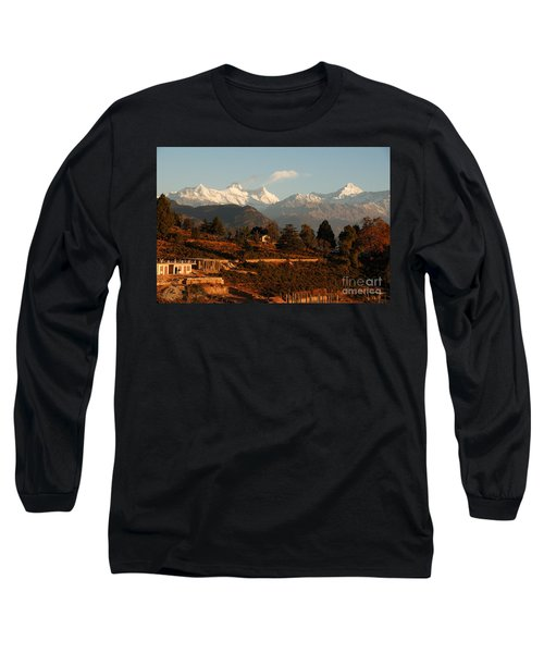 Long Sleeve T-Shirt featuring the photograph Serenity by Fotosas Photography