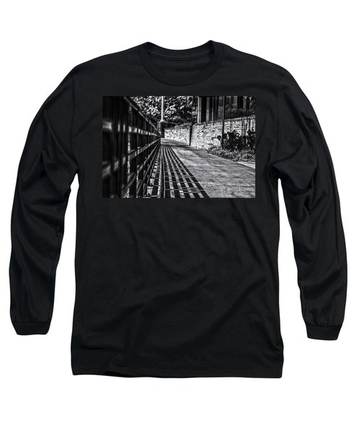 Long Sleeve T-Shirt featuring the photograph Shadow Walk by Tom Gort