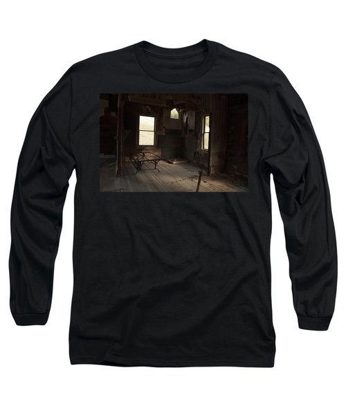 Long Sleeve T-Shirt featuring the photograph Shadows Of Time by Fran Riley