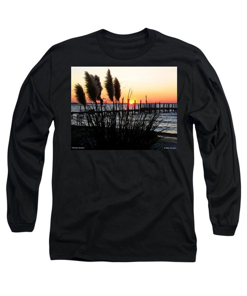 Shoreline Serenity Long Sleeve T-Shirt