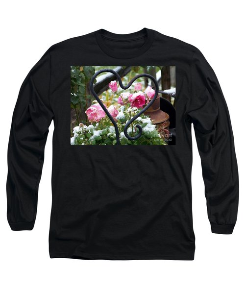 Shot Through The Heart Long Sleeve T-Shirt