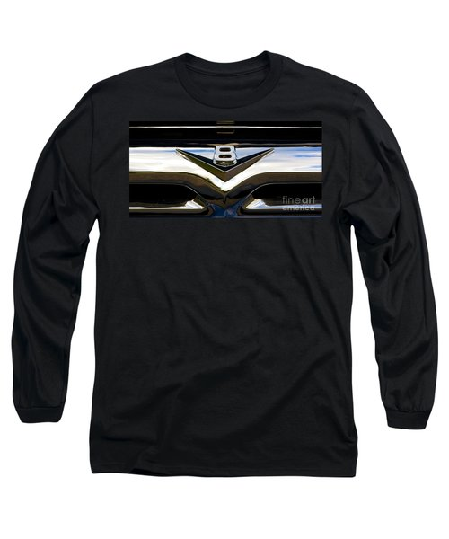 Should Have Had A Vee Eight Long Sleeve T-Shirt by Chris Dutton