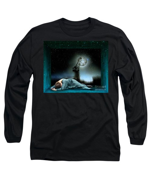 Shrine Of Dreams Long Sleeve T-Shirt by Rosa Cobos
