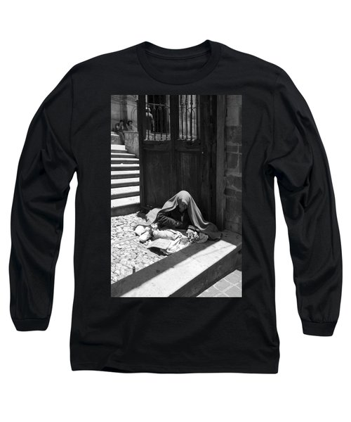 Long Sleeve T-Shirt featuring the photograph Silent Desperation by Lynn Palmer