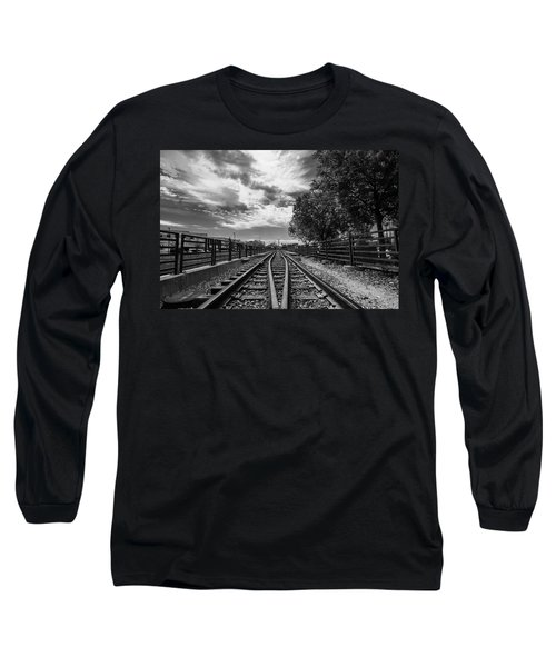 Long Sleeve T-Shirt featuring the photograph Silent Spur by Tom Gort