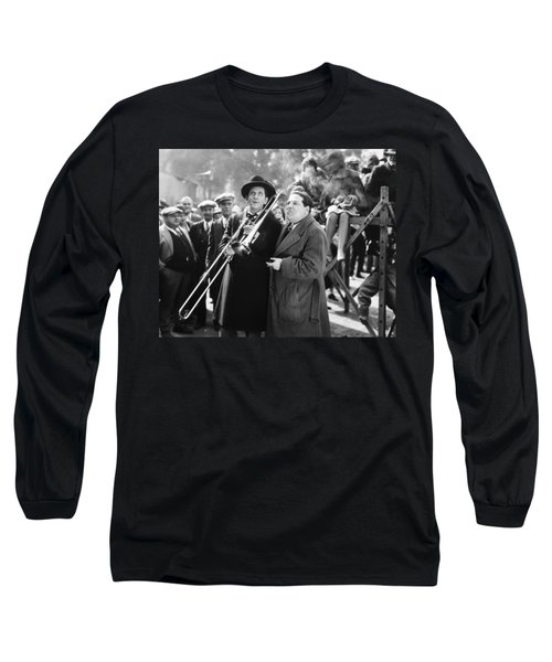 Silent Still: Musicians Long Sleeve T-Shirt by Granger