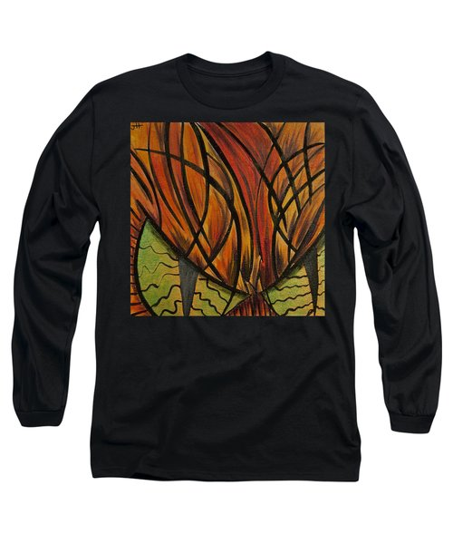 Sinister Feline Long Sleeve T-Shirt