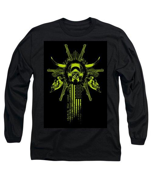 Six Shooter Long Sleeve T-Shirt by Tony Koehl