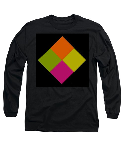 Long Sleeve T-Shirt featuring the photograph Six Squared by Steve Purnell