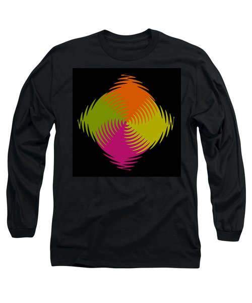 Long Sleeve T-Shirt featuring the photograph Six Squared Zigzag by Steve Purnell