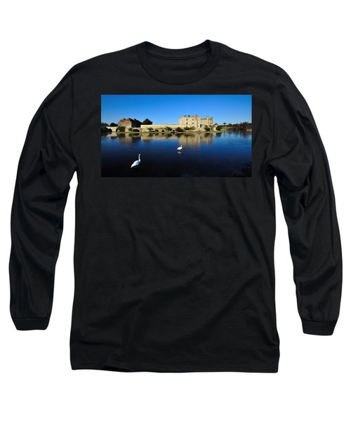Skating Swans Long Sleeve T-Shirt