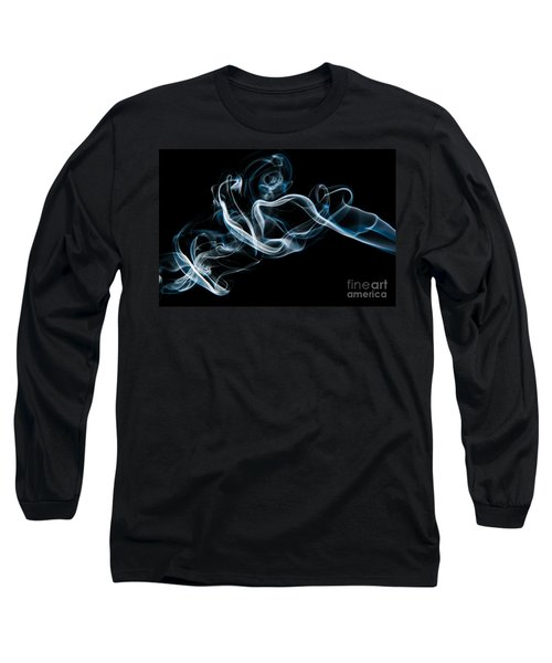 Smoke-2 Long Sleeve T-Shirt by Larry Carr