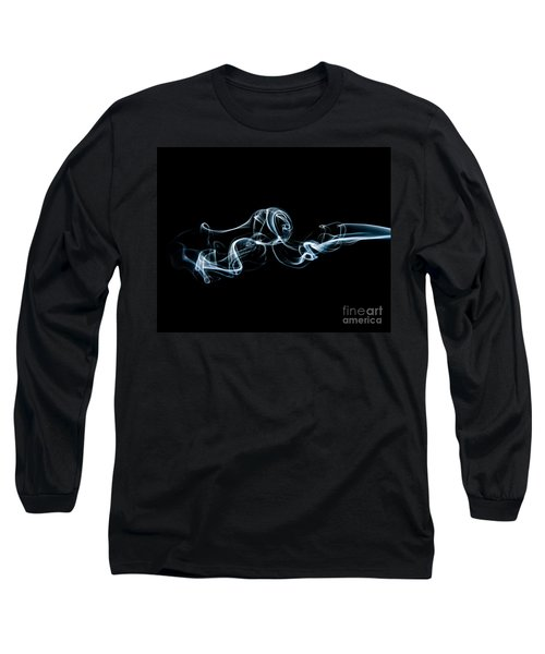 Smoke-3 Long Sleeve T-Shirt by Larry Carr
