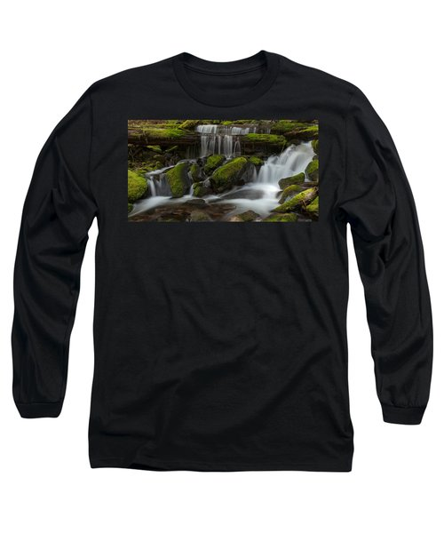 Sol Duc Stream Long Sleeve T-Shirt by Mike Reid