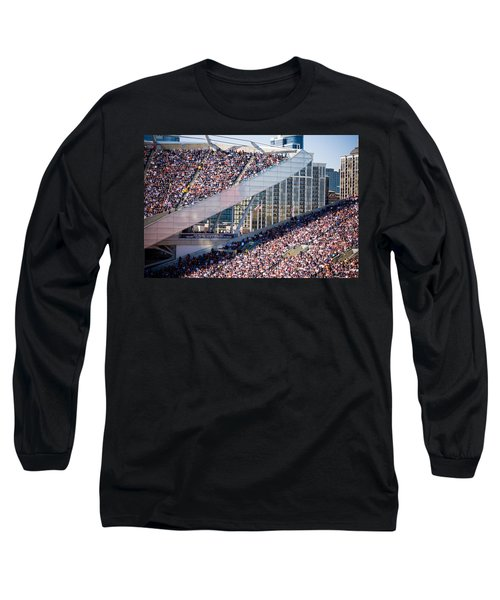Soldier Field Crowd Long Sleeve T-Shirt