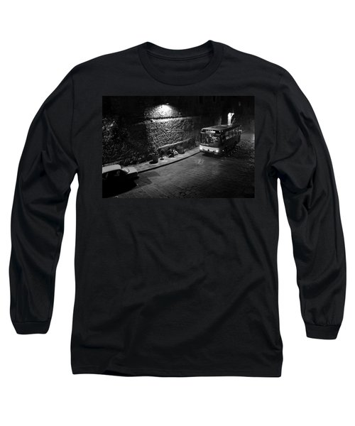 Long Sleeve T-Shirt featuring the photograph Solitary Wait by Lynn Palmer