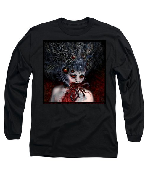 Speaking Lies About The Truth Long Sleeve T-Shirt by Tony Koehl