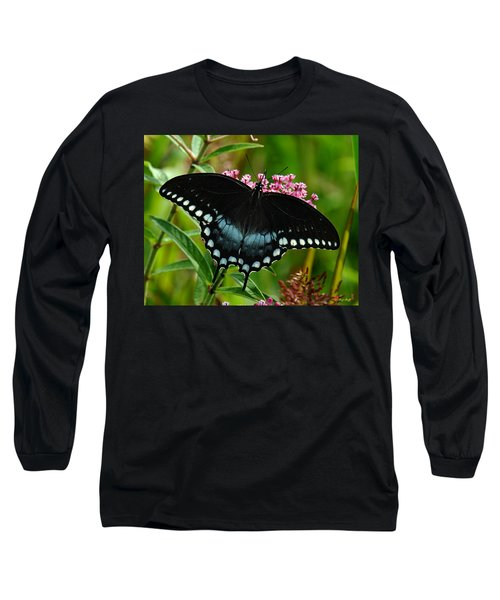 Spicebush Swallowtail Din038 Long Sleeve T-Shirt
